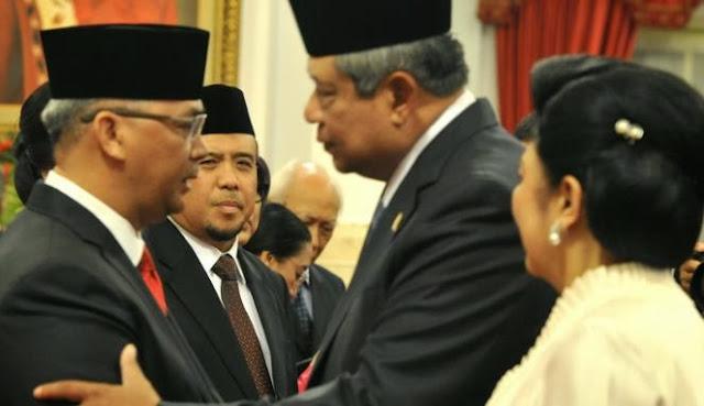 SBY Undang Lembaga Negara Bahas Krisis MK
