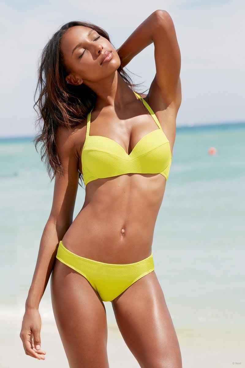Next Spring 2015 Swim  Lookbook featuring Jasmine Tookes