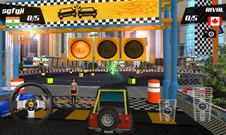 Screenshots of the Car racing stunts 3D for Android tablet, phone.