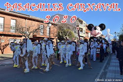 PASACALLES CARNAVAL 2020
