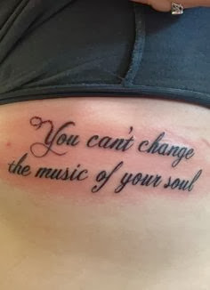 Ten Tattooable Quotes You May Not Miss