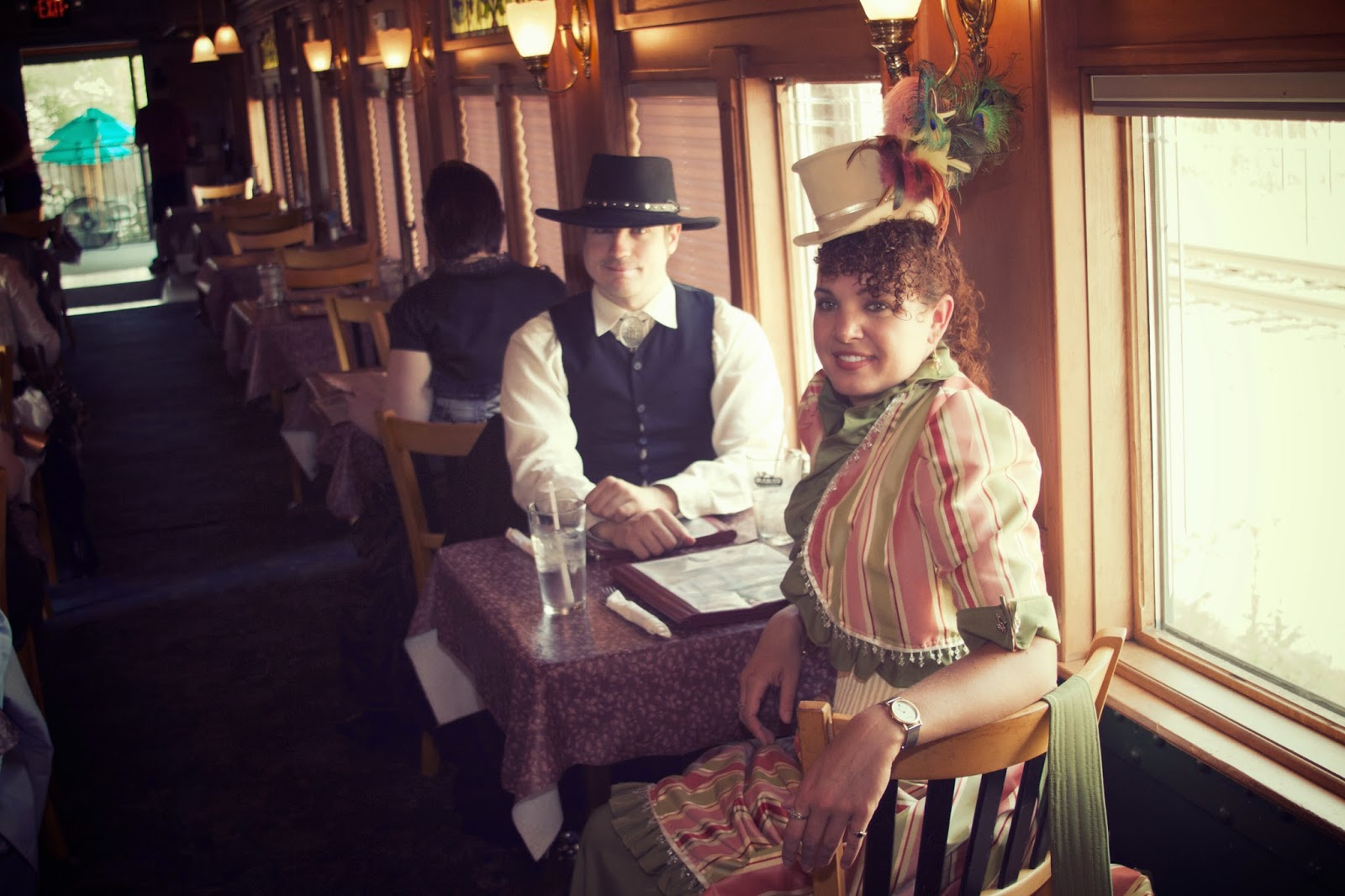 Capitol Steam Invasion, Clara's Train Car. Photo by Tammy Sue Allen Photography. Lansing, Michigan