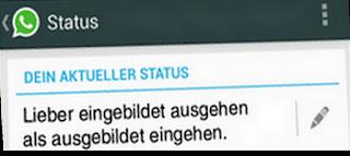 whatsapp sprüche status
