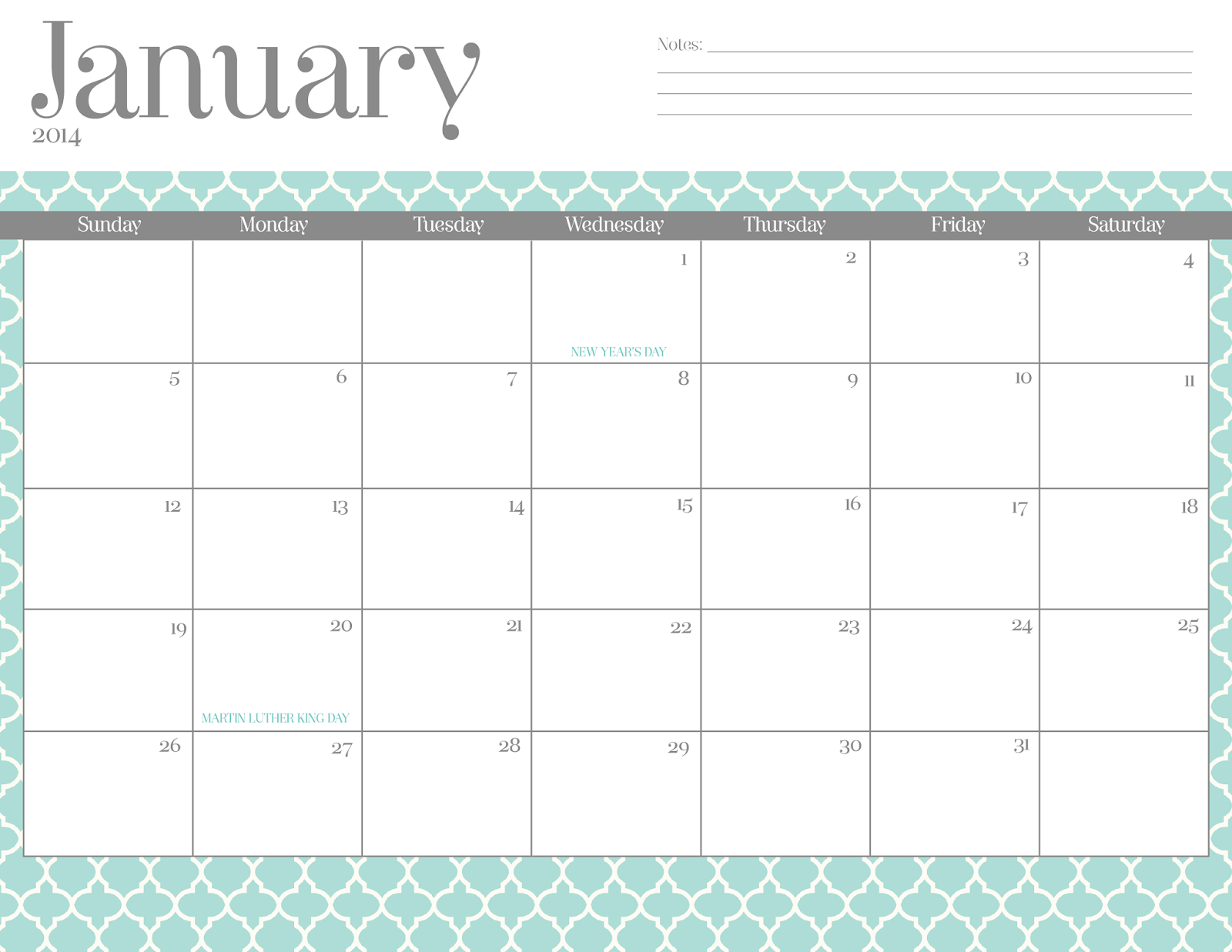 to your favorite calendar design and follow it to download your free ...