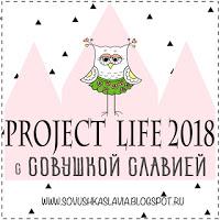Project Life 2018 с Совушкой Славией