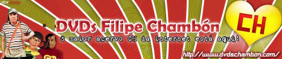 DVD's Filipe Chambón - Chaves e Chapolin em DVD