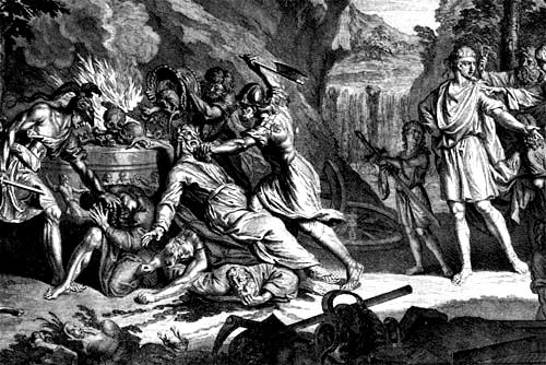 Abril: Época de Sacrifício Humano