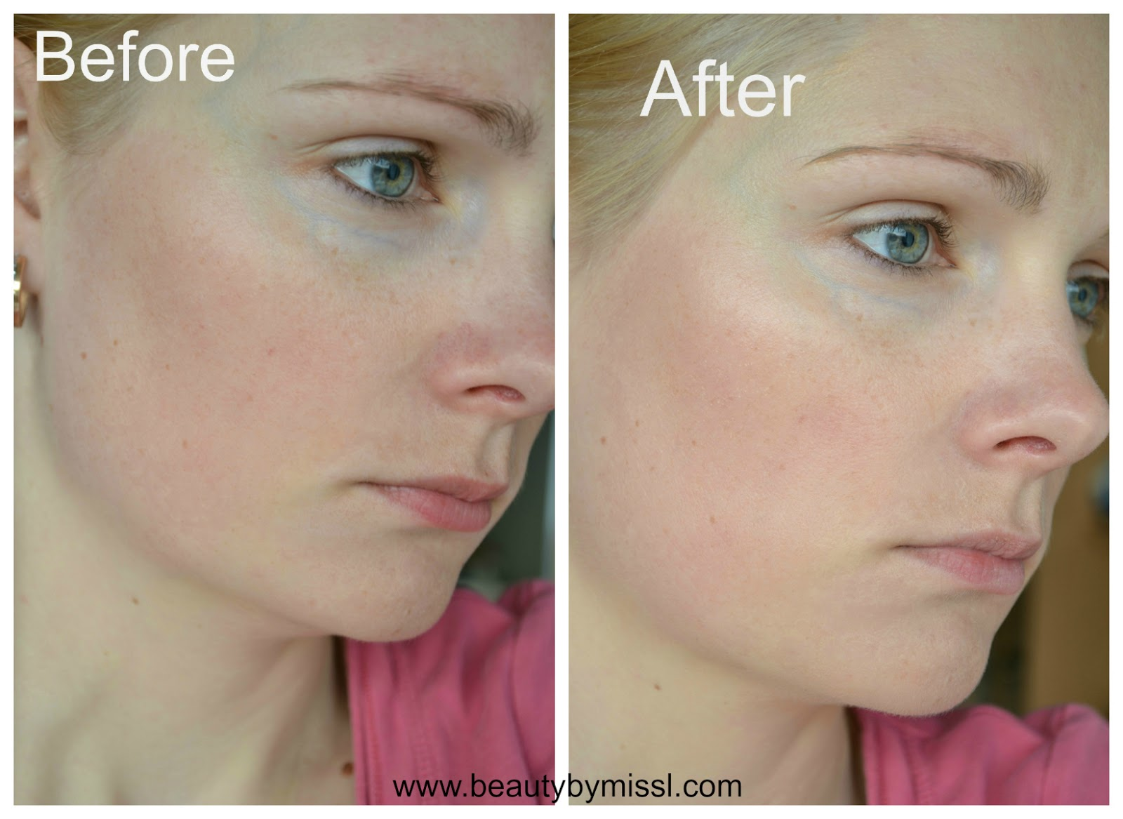 Palmers Eventone BB cream fair light on my skin