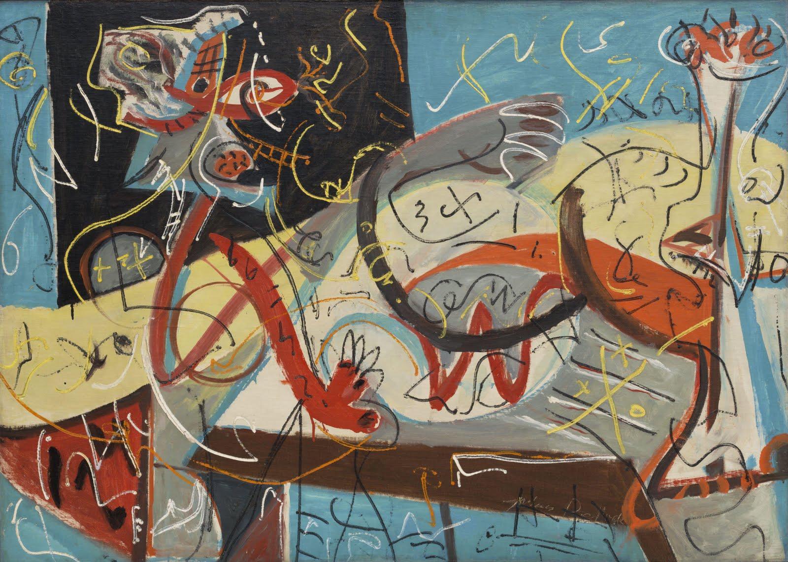 HISTORIA DEL AR... Jackson Pollock Number 10 1949