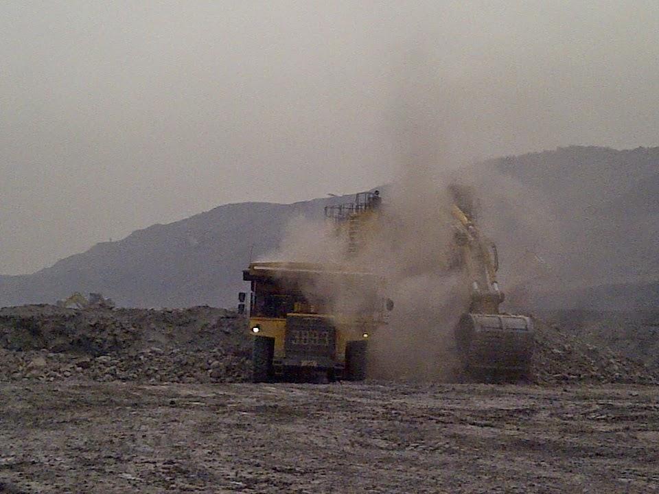 Bahaya debu tambang