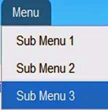 Membuat New tab Sub Menu