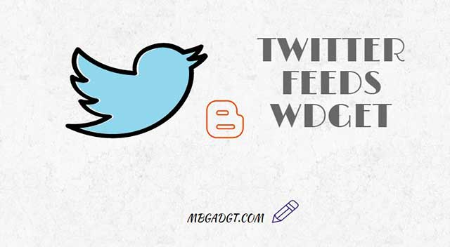 twitter feed widget blogger