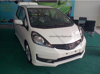 All New Honda Jazz 2013