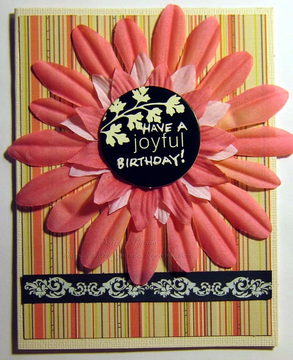 Have a Joyful Birthday card
