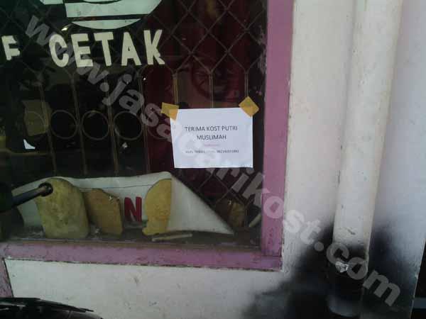 Kost Putri Muslim Dekat UB - Ada info kost putri dekat sama UB, di Jalan Sumbersari. Hasil pencarian jasa cari kost menjelaskan bahwa lokasi ini cocok untuk mahasiswa UB yang lokasinya di Peternakan dan Kedokteran.