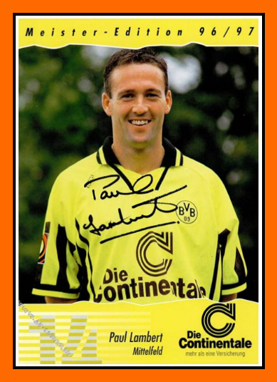 old school panini before his coaching career paul lambert. Black Bedroom Furniture Sets. Home Design Ideas