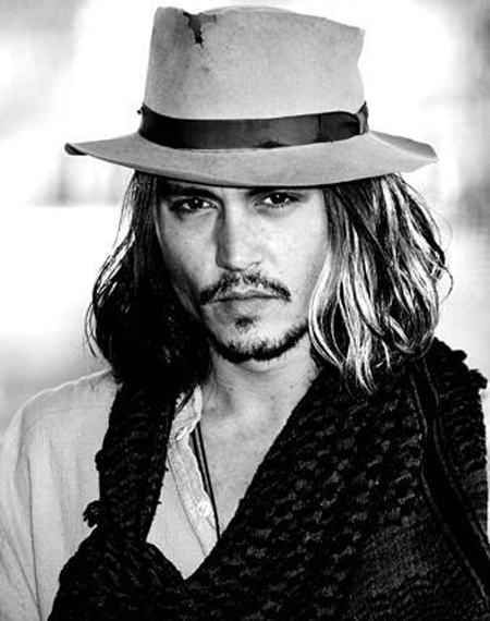 Johnny Depp Hairstyle 12