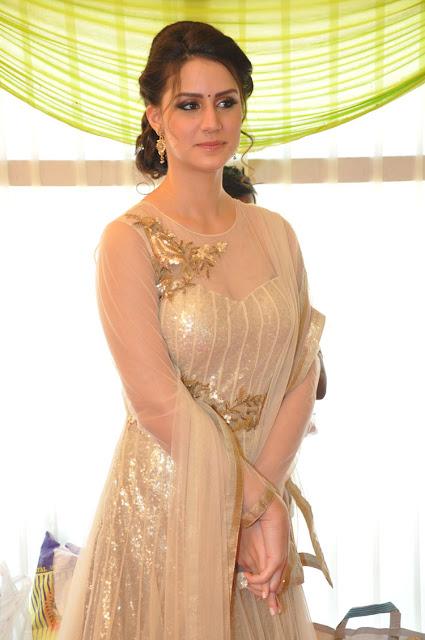 Larissa Bonesi Sizzling zilian model looks Stunning in Ghagra Choli wow Beautiful Actress
