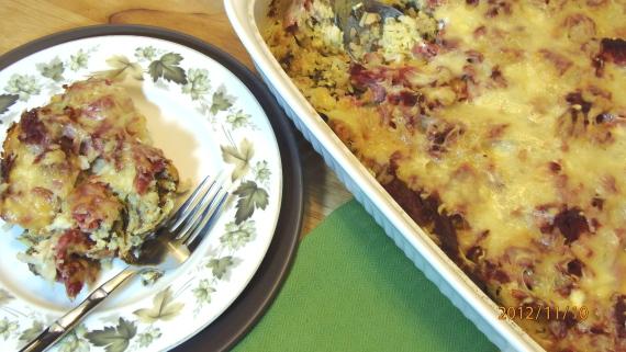 Corned Beef Hash Strata Recipe