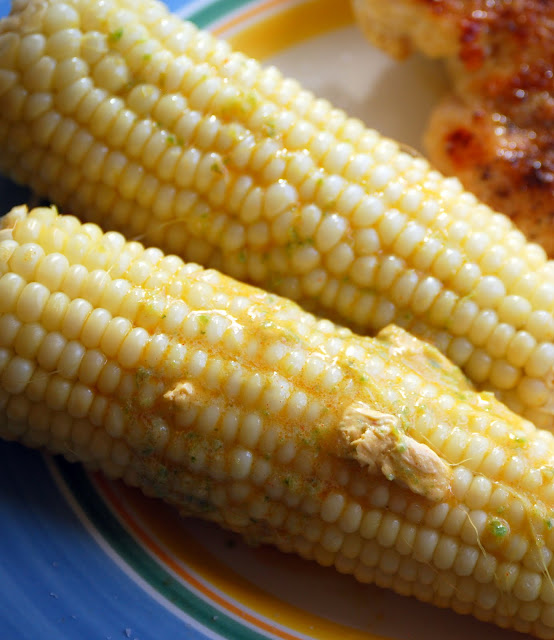 Jalapeno-Lime Corn on The Cob | The Zucchini Diaries