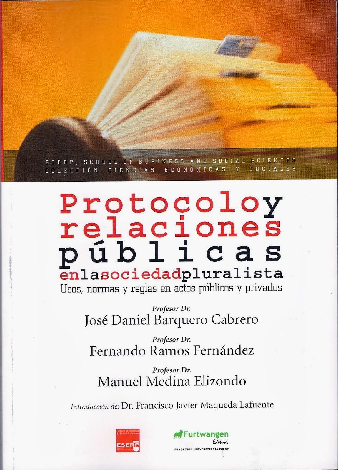 Protocolo y Relaciones Públicas en la sociedad pluralista