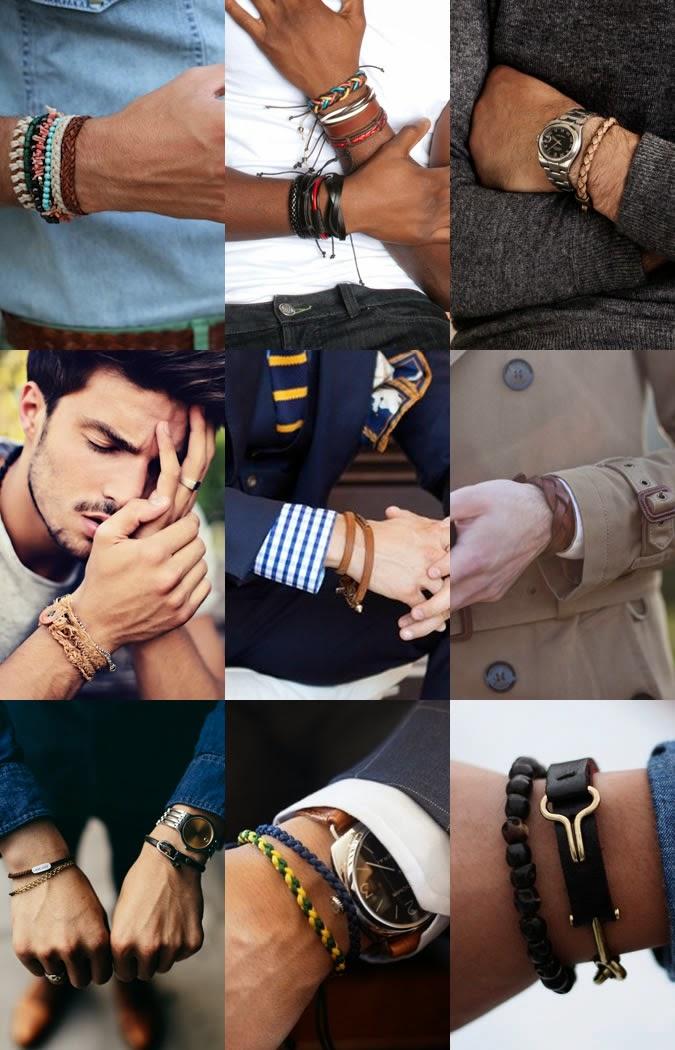 Erkek bileklik modası 2014