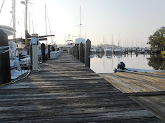 Sunday, Sept. 12.  A beautiful, tranquil morning at the dock.