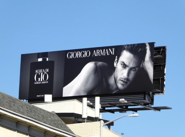 Giorgio Armani Acqua di Gio fragrance billboard
