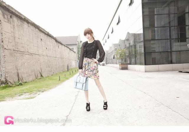 5 Zheng Lu - Mystery Figure- very cute asian girl-girlcute4u.blogspot.com