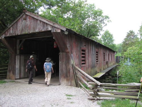 Clifton Mill covered bridge