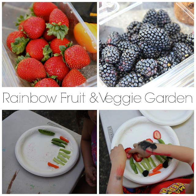 Planting a Rainbow Activity