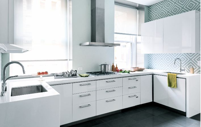 wallpaper for backsplash in kitchen