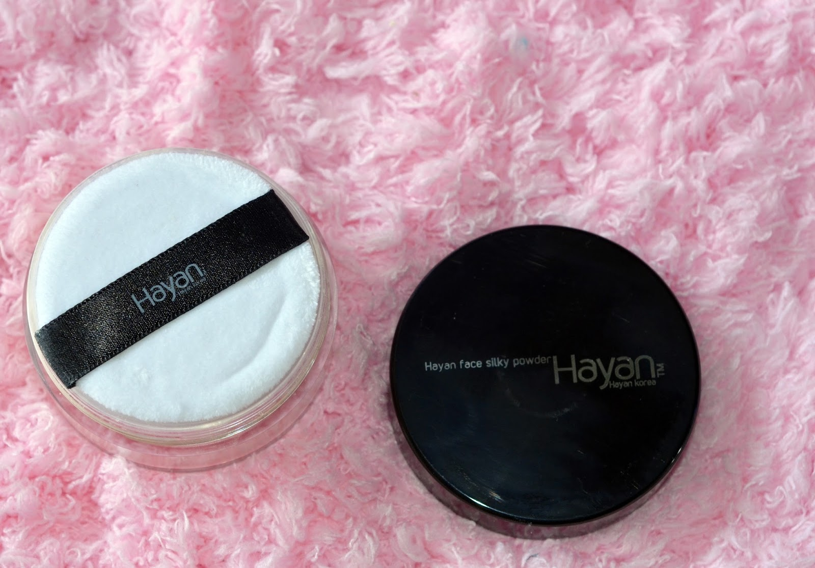 Hayan Korea Silky Face Powder review