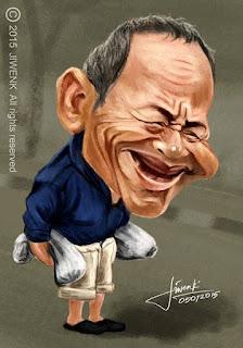 Karikatur Mang Atret