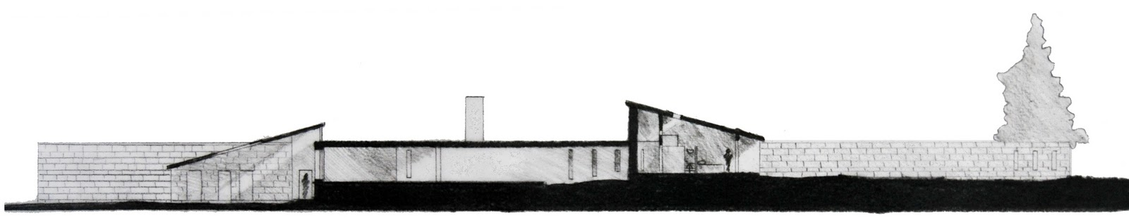 Richard Neutra Kaufmann House Floor Plan