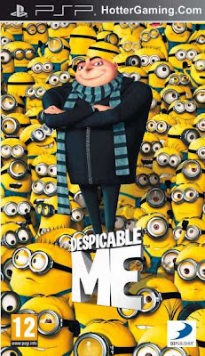 Free Download Despicable Me PSP Game Cover Photo