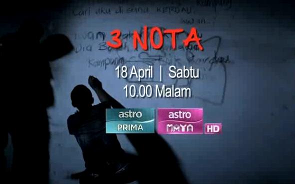 3 Nota (2015) Telemovie Astro Maya HD, Tonton Telemovie Melayu, Tonton Drama Melayu, Tonton Cerita Melayu, Tonton Astro, Tonton Telemovie Online, Tonton Astro Maya HD.