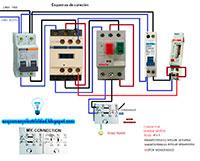 Conexion motor monofasico con condensador