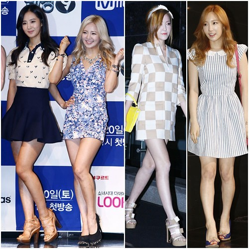 girls generation, taeyeon, yuri