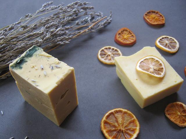 Jabón naturaleza y jabón de cítricos