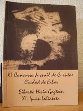 XI CONCURSO JUVENIL DE CUENTOS CIUDAD DE EIBAR