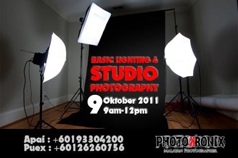 Iklan Jap : Basic Lighting & Studio Photoshoot