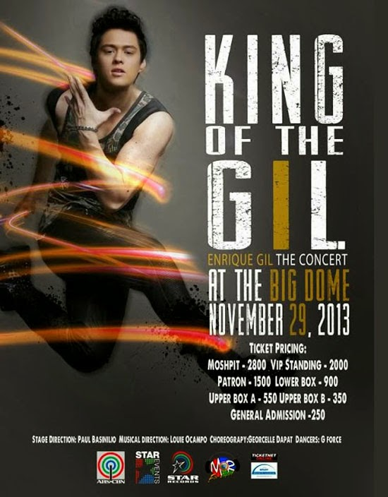 KING OF THE GIL | ENRIQUE GIL THE CONCERT