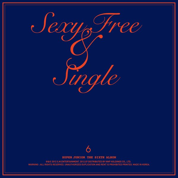 [MP3/DL] Super Junior – Sexy, Free & Single Full Album Download