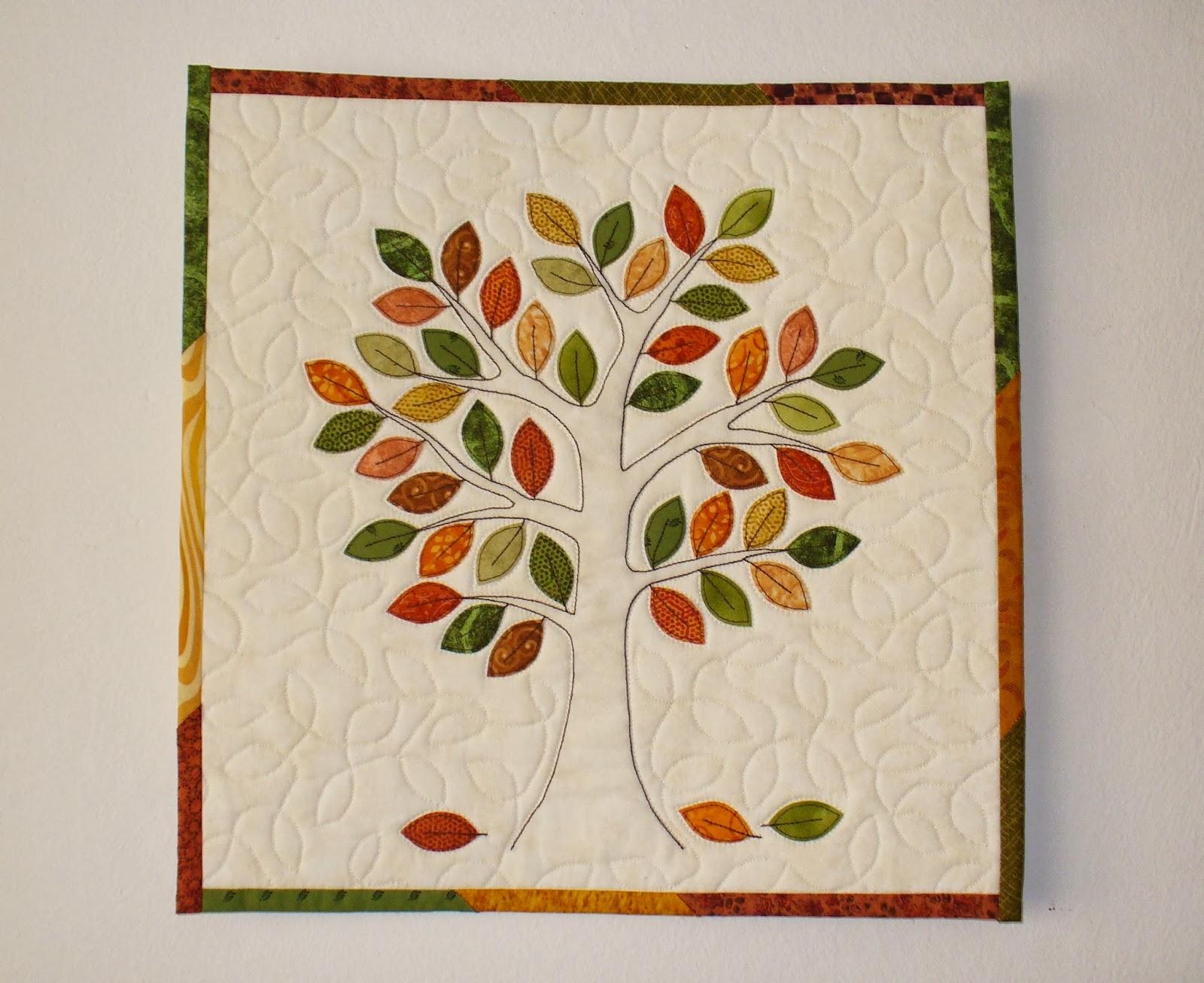 Patchwork and stitchery garden wandbehang richtig h ngen - Wandbehang patchwork ...
