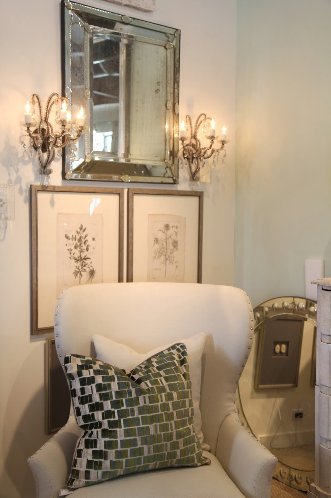 Antique sconces; Inspirational Chandeliers and Sconces; Nora's Nest