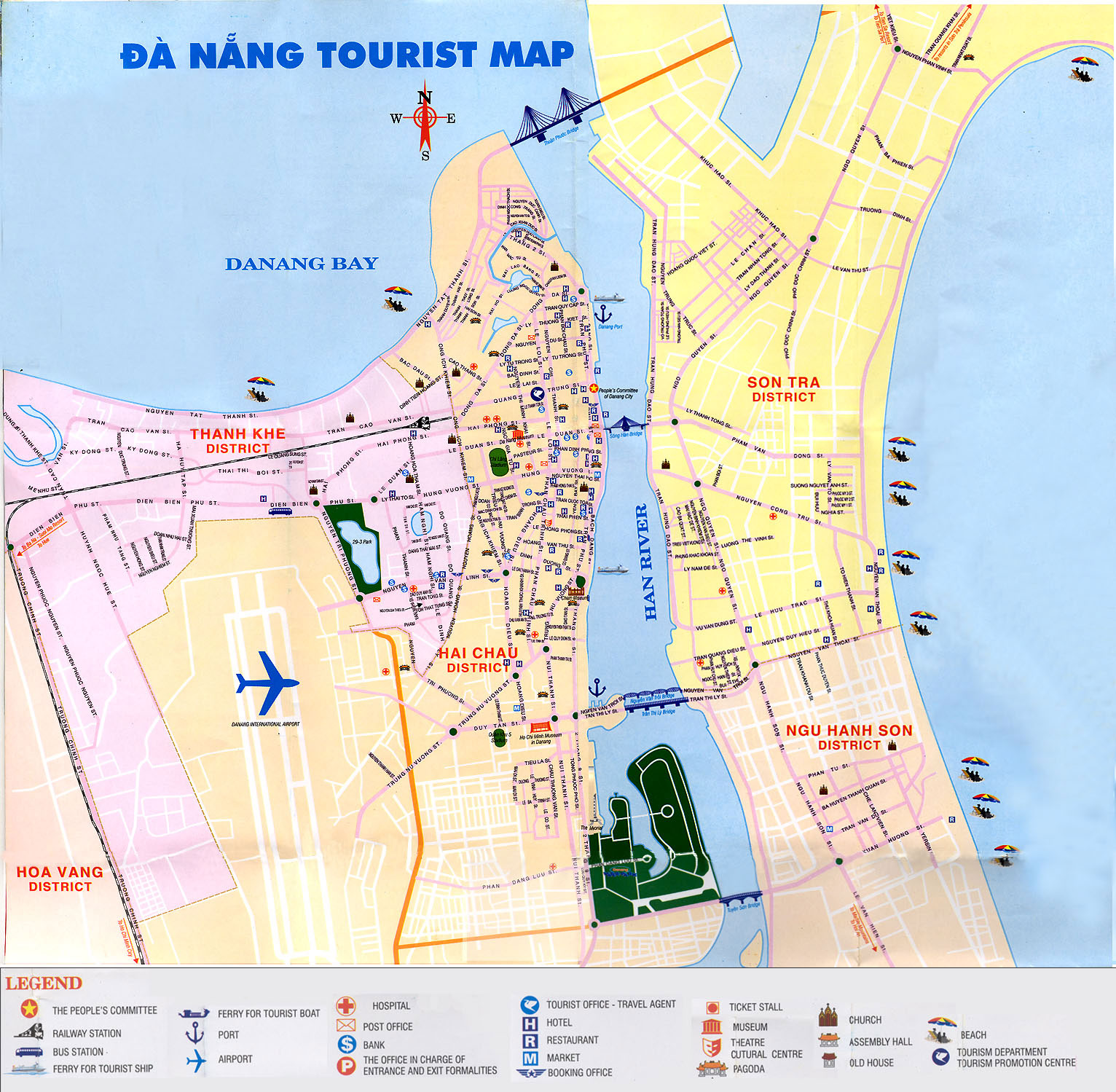 Da Nang Vietnam Cruise Port of Call – Vietnam Tourist Attractions Map