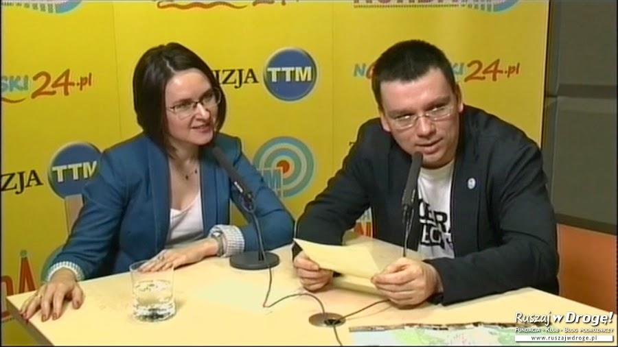 W Telewizji TTM opowiadaliśmy o jesiennych wycieczkach