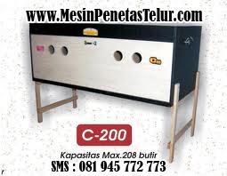 Mesin Penetas Sederhana : C200
