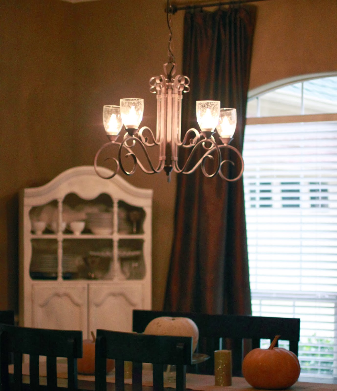 Crafty Texas Girls Chandelier MakeOver for $35 No Painting Required